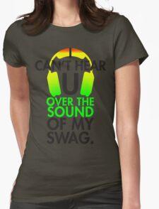 Reggae Music Swag Womens Fitted T-Shirt