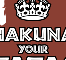 Hakuna Your Tatas Sticker