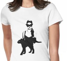 Cat Women Luxury Womens Fitted T-Shirt