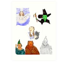 OFF TO SEE THE WIZARD... Art Print