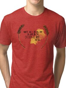 I'd Just be the Catcher in the Rye Tri-blend T-Shirt