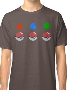 Pokemon - Starter Choice Classic T-Shirt
