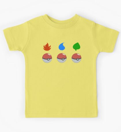 Pokemon - Starter Choice Kids Tee