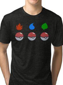 Pokemon - Starter Choice Tri-blend T-Shirt