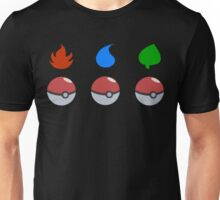 Pokemon - Starter Choice Unisex T-Shirt