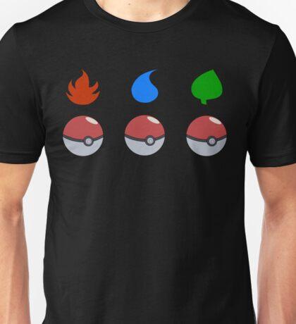 Pokemon - Starter Choice Unisex T-Shirt