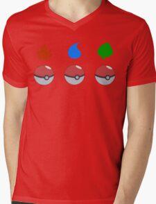 Pokemon - Starter Choice Mens V-Neck T-Shirt