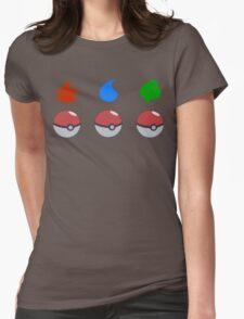 Pokemon - Starter Choice Womens Fitted T-Shirt