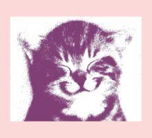 pink cat Kids Tee