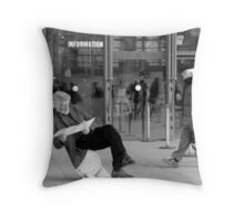 Information Throw Pillow