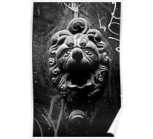 Parisian Door knocker Poster
