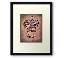 Lovecraft Heart Framed Print