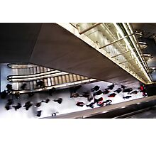 Rush Hour in Subway Photographic Print