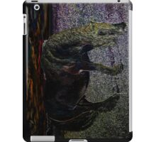 gone to the happy hunting ground iPad Case/Skin