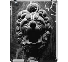 Parisian Door knocker iPad Case/Skin
