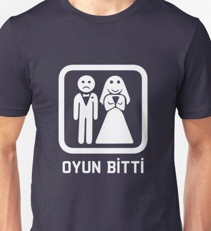 Oyun Bitti - Game Over (Turkish Tee) Unisex T-Shirt