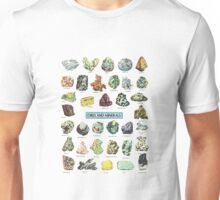 Ores and Minerals Unisex T-Shirt