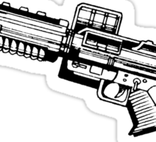 Neuronic Rifle Sticker
