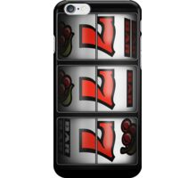 Luck 777 (vertical ver.) iPhone Case/Skin