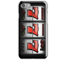 Luck 777 (vertical ver.) iPhone Case/Skin