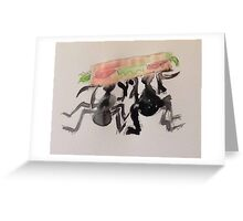 The Sandwich Thieves Greeting Card