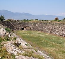 Aphrodisias Hellenic Stadium From The East by taiche