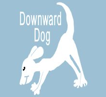 Downward Dog Shirt Womens Fitted T-Shirt