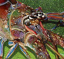 Lobster Head by Carey Chen