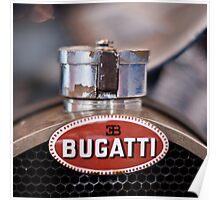 Old Bugatti  Poster
