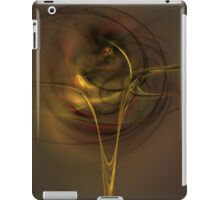 Yellow fluid iPad Case/Skin