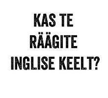 Do you speak English? (Estonian) by EnglishAbroad