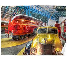 Duchess of Hamilton - NRM - York - HDR Poster