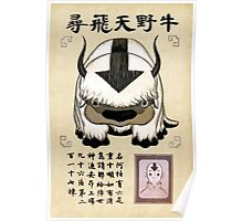 Avatar the Last Airbender - Lost Appa Wanted Poster Poster