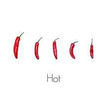 Hot Chillies  by Alyson Fennell