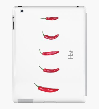 Hot Chillies  iPad Case/Skin