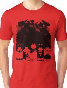Vector Tyrants black version Unisex T-Shirt
