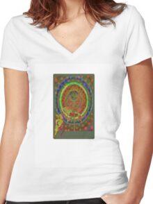 bonjour l'amore Women's Fitted V-Neck T-Shirt