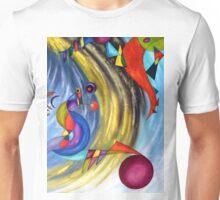 WIND - Acrylic painting Unisex T-Shirt