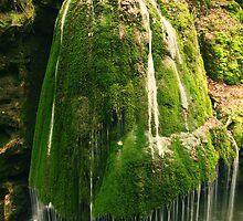 Unique waterfall in Romania by Sandra Kemppainen