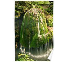Unique waterfall in Romania Poster
