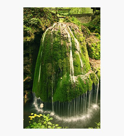 Unique waterfall in Romania Photographic Print