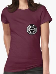 Dharma Initiative logo uniform Womens Fitted T-Shirt