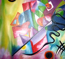 Kandinsky - oil painting by Heaven7