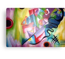 Kandinsky - oil painting Canvas Print