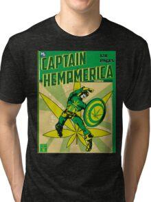 CAPTAIN HEMPMERICA Tri-blend T-Shirt