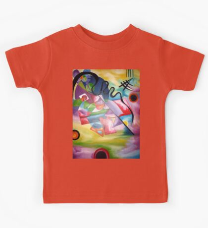 Kandinsky - oil painting Kids Tee
