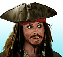 Jack Sparrow by SanFernandez