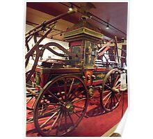 Classic Fire Engine, Veteran Pumper, Philadelphia-Style Pumper, Circa 1838, New York City Fire Museum, New York City Poster