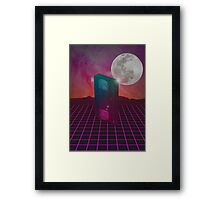 Back to the 80s Framed Print