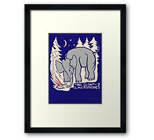 The Microphones - The Glow Pt. 2 Framed Print